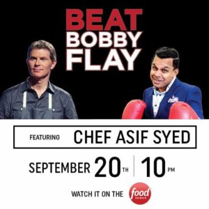 Beat Bobby Flay Event Social Post