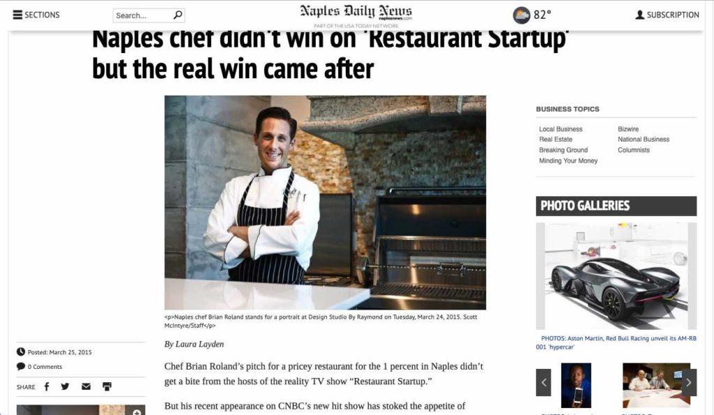 Crave Culinaire - Restaurant Startup