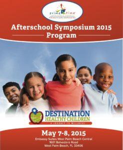 Primetime Palm Beach County Destination Healthy Children Program 20 Page Event Program
