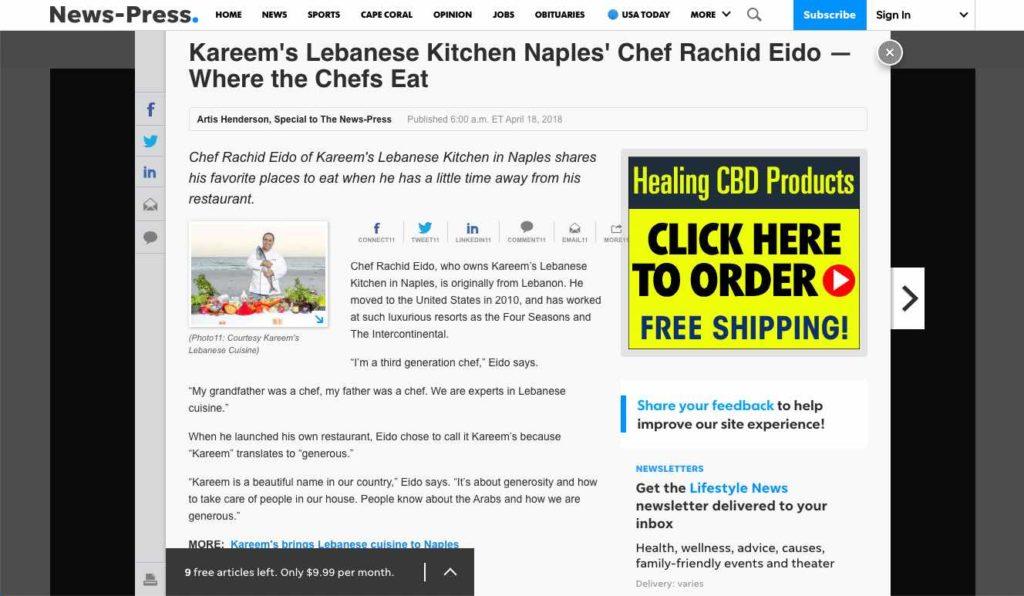 Kareems Kitchen - Where the Chefs Eat