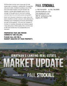 Paul Stockall Market Update Foldover Postcard Outside